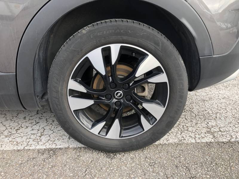 Opel Grandland X 1.2 Turbo 130 ch Design Line 120 ans Gris occasion à Brive-la-Gaillarde - photo n°4