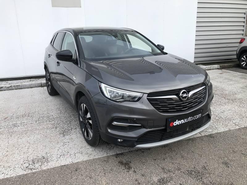 Opel Grandland X 1.2 Turbo 130 ch Design Line 120 ans Gris occasion à Brive-la-Gaillarde