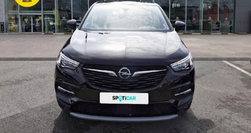 Opel Grandland X 1.2 Turbo 130ch 2020 Noir occasion à vert-saint-denis - photo n°2