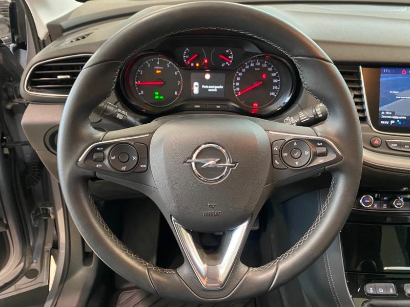 Opel Grandland X 1.2 Turbo 130ch Design Line 120 ans Gris occasion à Lognes - photo n°18