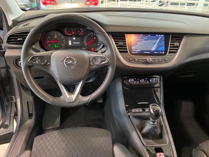 Opel Grandland X 1.2 Turbo 130ch Design Line 120 ans Gris occasion à Lognes - photo n°8