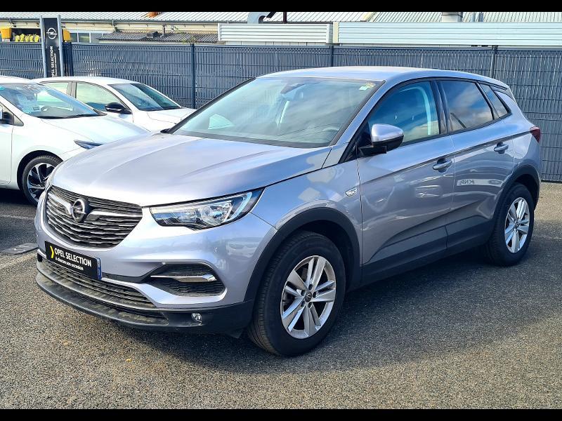 Opel Grandland X 1.2 Turbo 130ch Edition Business Gris occasion à Vert-Saint-Denis