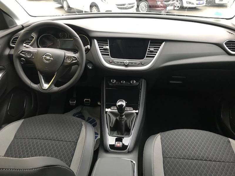 Opel Grandland X 1.2 Turbo 130ch Innovation Business Gris occasion à Vert-Saint-Denis - photo n°8