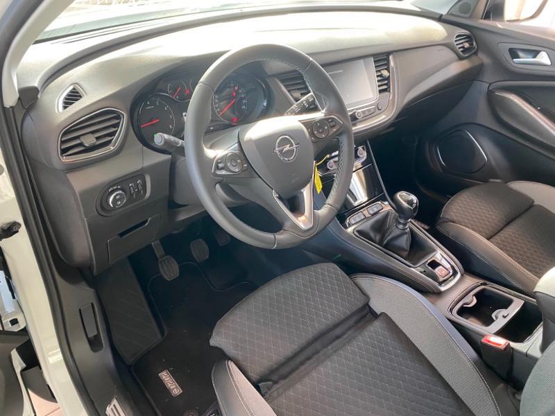 Opel Grandland X 1.2 Turbo 130ch Opel 2020 Blanc occasion à Lognes - photo n°9