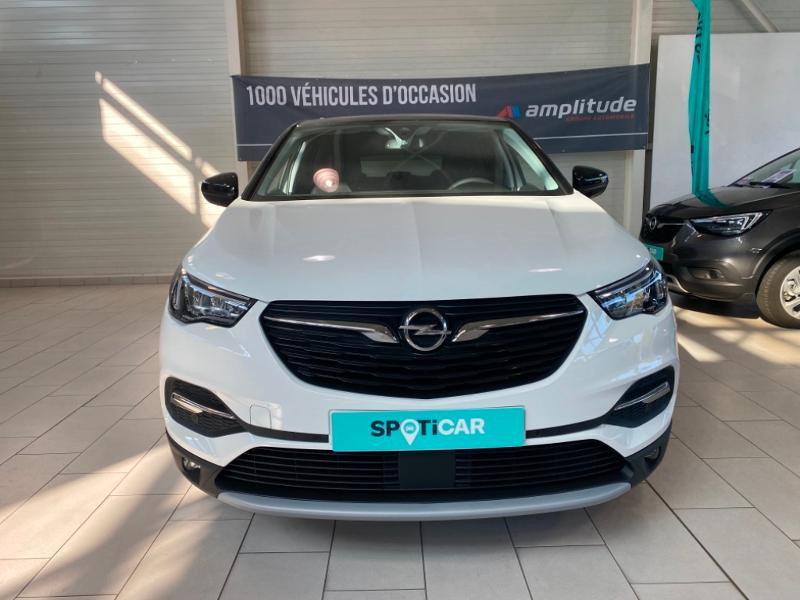 Opel Grandland X 1.2 Turbo 130ch Opel 2020 Blanc occasion à Lognes - photo n°2