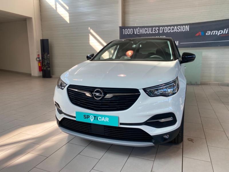 Opel Grandland X 1.2 Turbo 130ch Opel 2020 Blanc occasion à Lognes