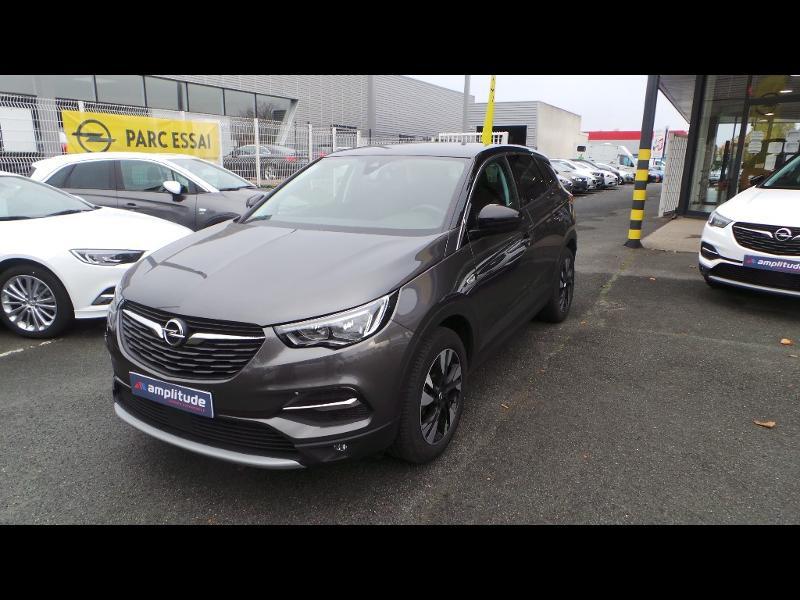 Opel Grandland X 1.5 D 130ch Design Line BVA6 Gris occasion à Brie-Comte-Robert - photo n°2