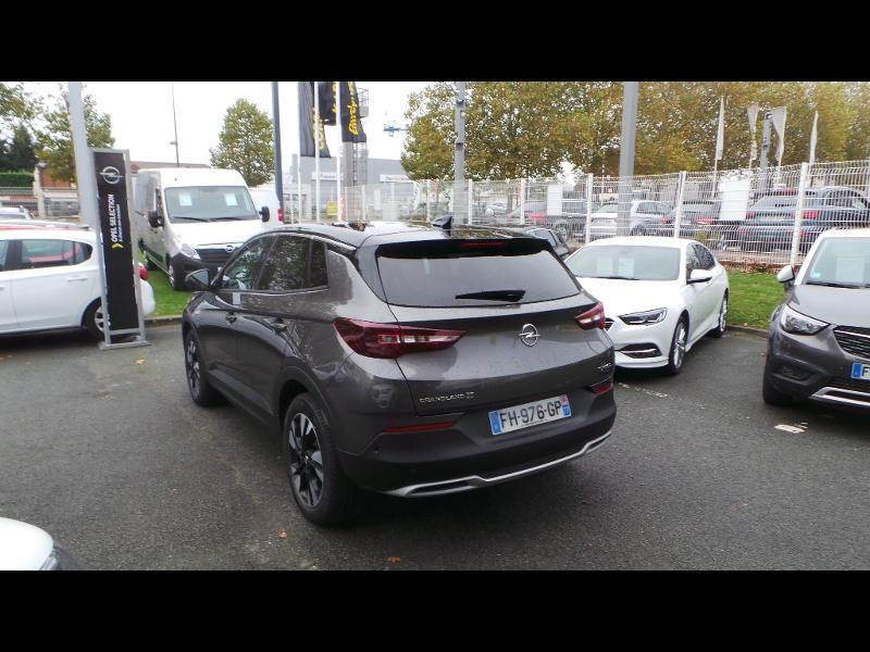 Opel Grandland X 1.5 D 130ch Design Line BVA6 Gris occasion à Brie-Comte-Robert - photo n°3