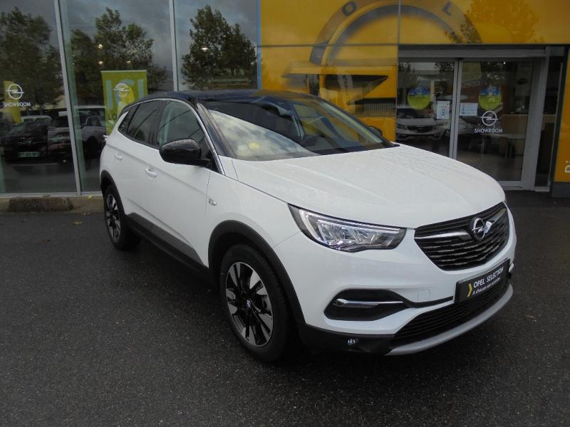 Opel Grandland X 1.5 D 130ch Design Line Blanc occasion à Vert-Saint-Denis