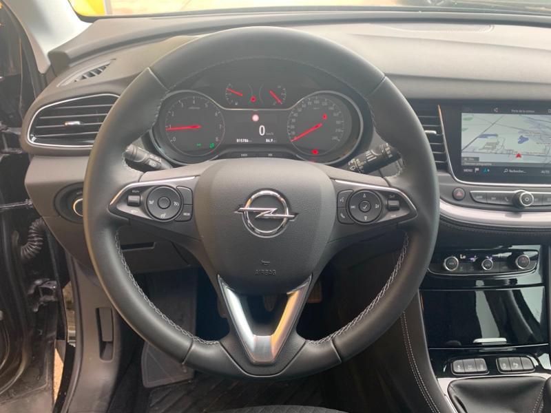 Opel Grandland X 1.5 D 130ch Elite 7cv Noir occasion à Varennes-sur-Seine - photo n°6