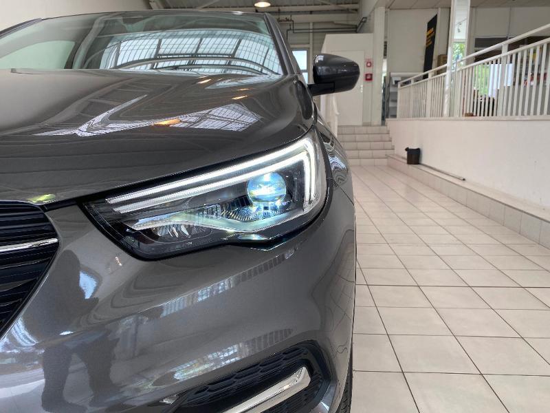 Opel Grandland X 1.5 D 130ch Elite BVA8 7cv Gris occasion à Meaux - photo n°3