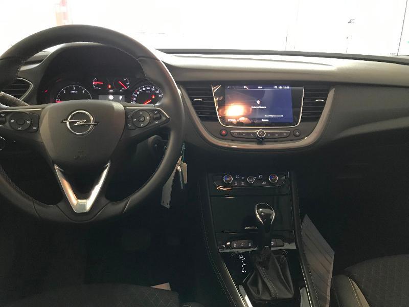 Opel Grandland X 1.5 D 130ch Elite BVA8 7cv Gris occasion à Meaux - photo n°10
