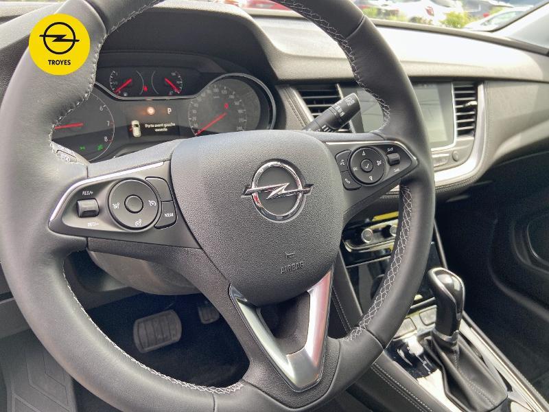 Opel Grandland X 1.5 D 130ch Elite BVA8 Gris occasion à Barberey-Saint-Sulpice - photo n°16