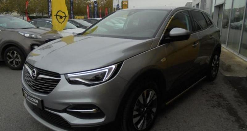 Opel Grandland X 1.5 D 130ch Elite Gris occasion à vert-saint-denis - photo n°4