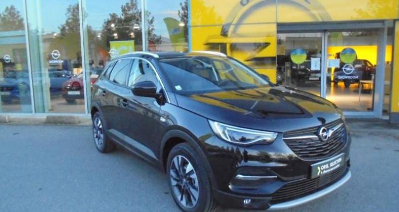 Opel Grandland X 1.5 D 130ch Elite Noir occasion à vert-saint-denis