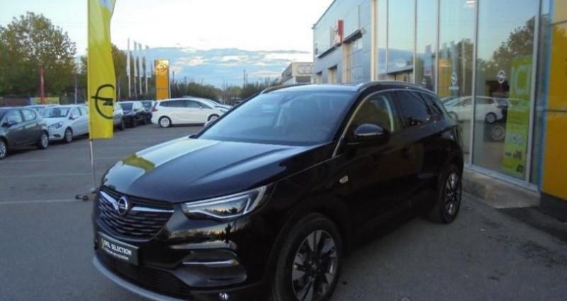 Opel Grandland X 1.5 D 130ch Elite Noir occasion à vert-saint-denis - photo n°4