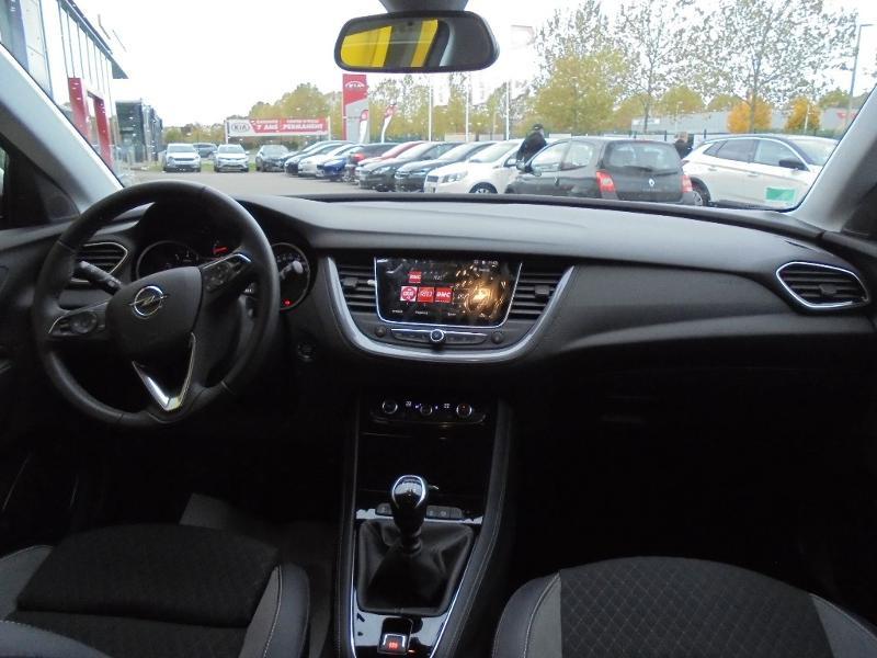 Opel Grandland X 1.5 D 130ch Elite Gris occasion à Vert-Saint-Denis - photo n°8