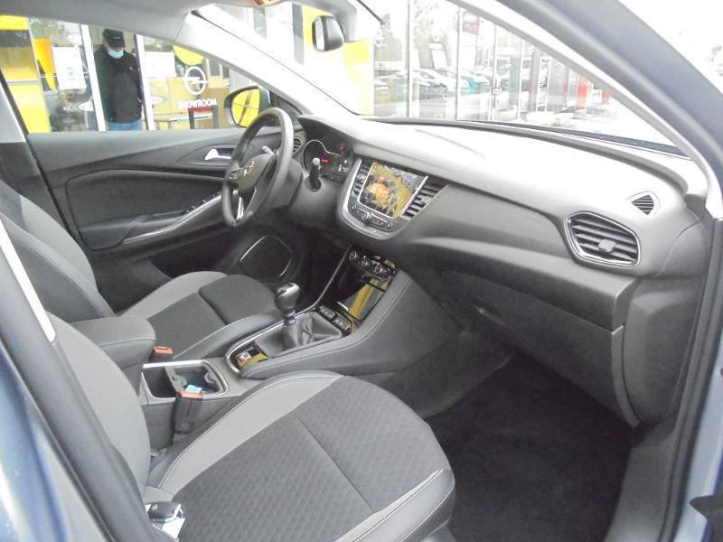 Opel Grandland X 1.5 D 130ch Elite Gris occasion à Vert-Saint-Denis - photo n°3