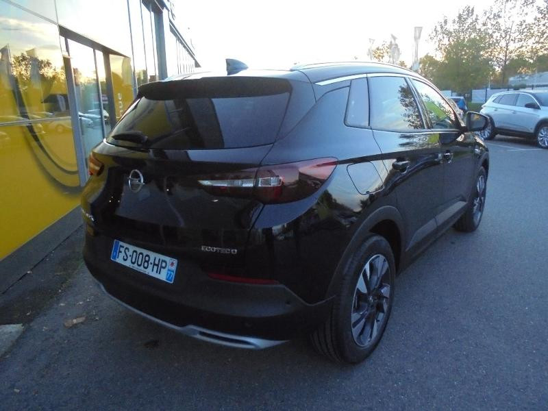 Opel Grandland X 1.5 D 130ch Elite Noir occasion à Vert-Saint-Denis - photo n°2