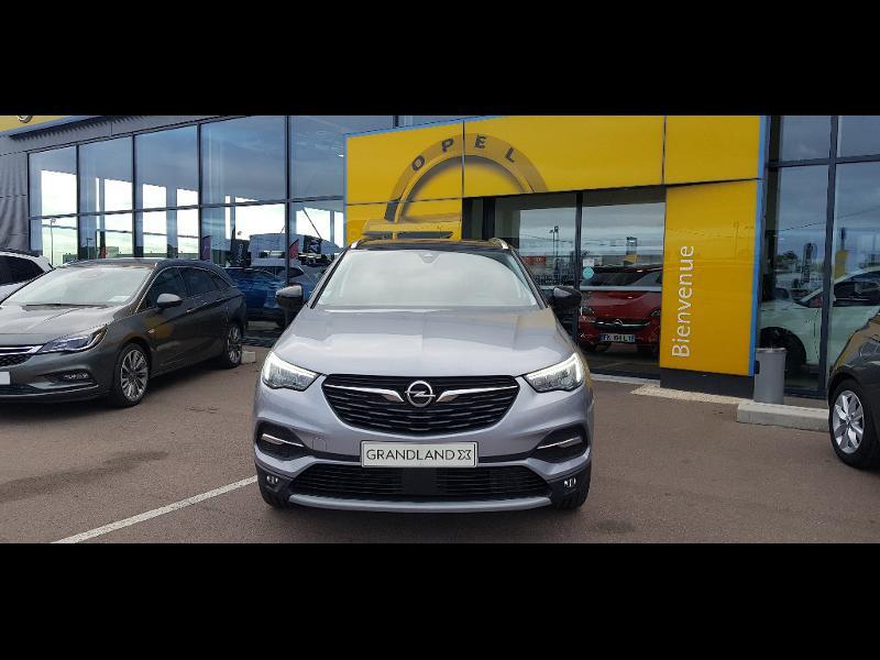 Opel Grandland X 1.5 D 130ch Elite Gris occasion à Barberey-Saint-Sulpice - photo n°2