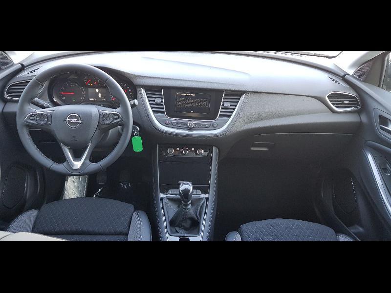 Opel Grandland X 1.5 D 130ch Elite Gris occasion à Barberey-Saint-Sulpice - photo n°12