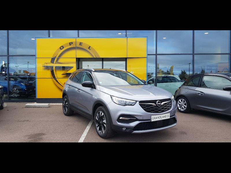Opel Grandland X 1.5 D 130ch Elite Gris occasion à Barberey-Saint-Sulpice