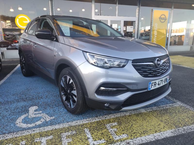 Opel Grandland X 1.5 D 130ch Opel 2020 BVA8 7cv Gris occasion à Samoreau - photo n°7