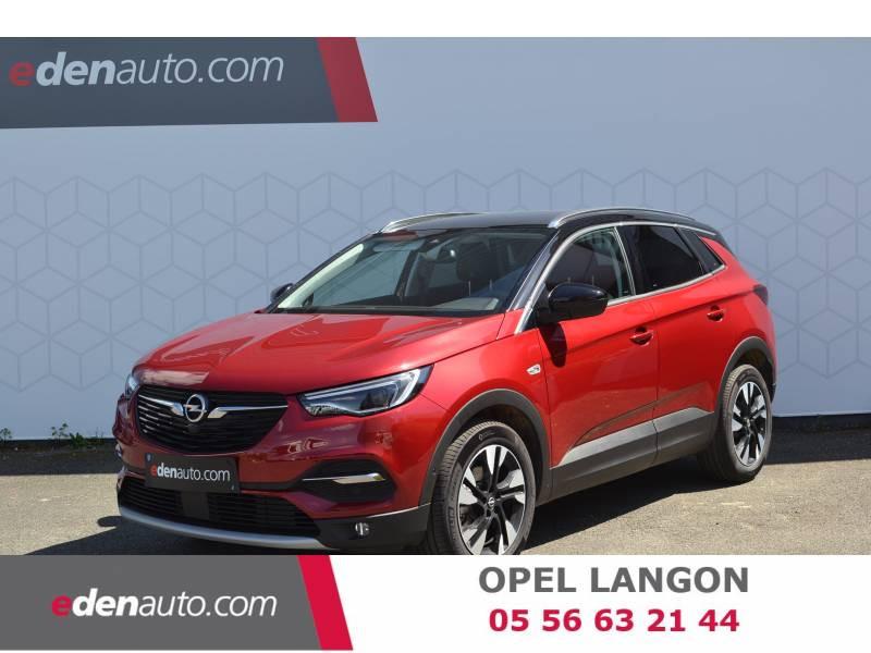 Opel Grandland X 1.5 Diesel 130 ch BVA8 Ultimate Rouge occasion à Toulenne