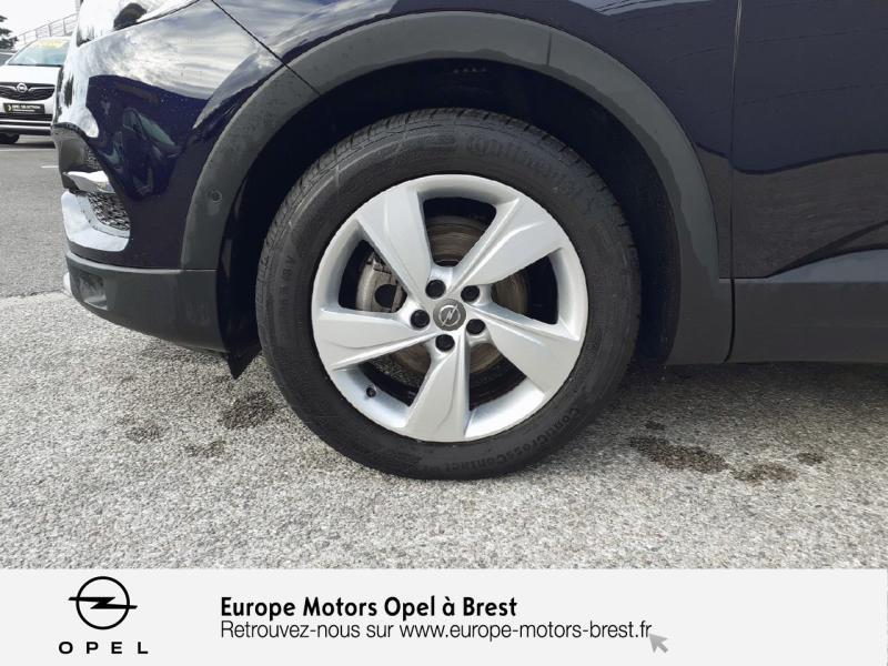 Opel Grandland X 1.6 D 120ch ECOTEC Innovation Bleu occasion à Brest - photo n°11