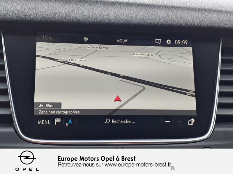 Opel Grandland X 1.6 D 120ch ECOTEC Innovation Bleu occasion à Brest - photo n°15