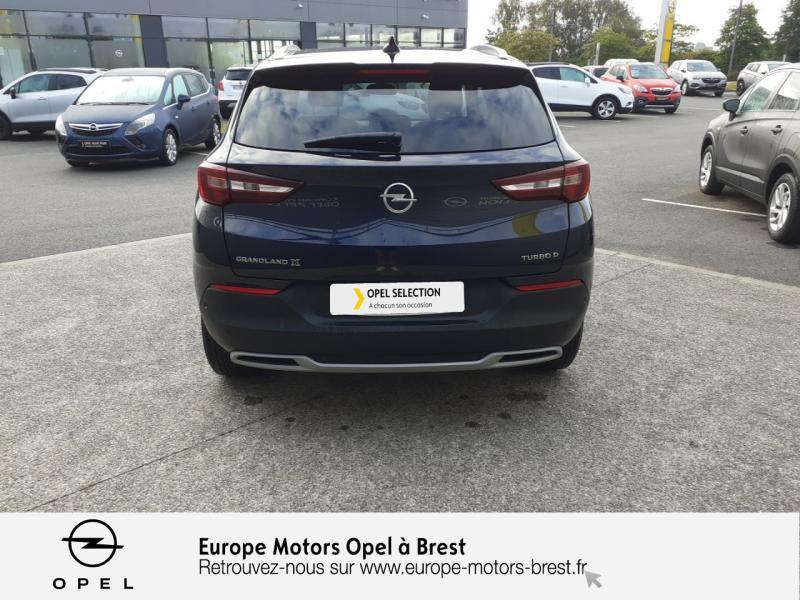Opel Grandland X 1.6 D 120ch ECOTEC Innovation Bleu occasion à Brest - photo n°5