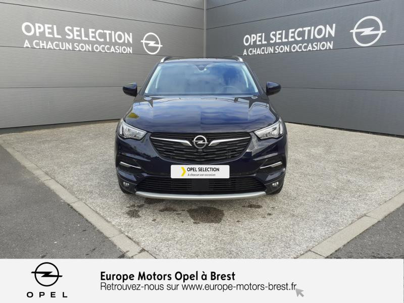 Opel Grandland X 1.6 D 120ch ECOTEC Innovation Bleu occasion à Brest - photo n°2