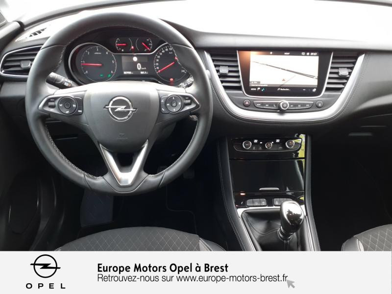 Opel Grandland X 1.6 D 120ch ECOTEC Innovation Bleu occasion à Brest - photo n°8