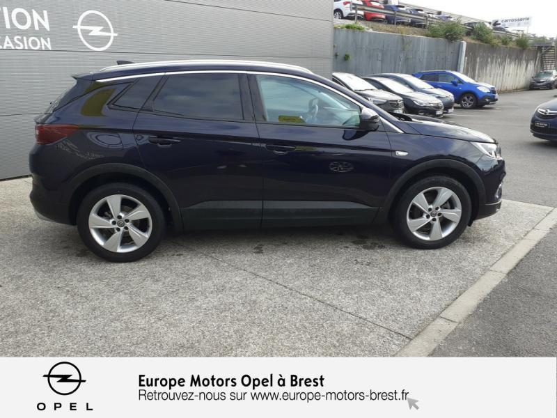 Opel Grandland X 1.6 D 120ch ECOTEC Innovation Bleu occasion à Brest - photo n°4
