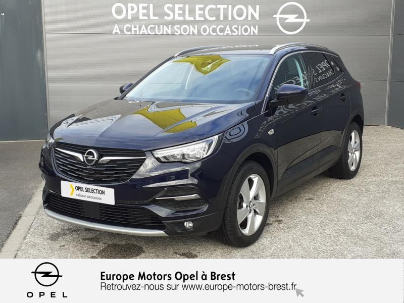 Opel Grandland X 1.6 D 120ch ECOTEC Innovation Bleu occasion à Brest
