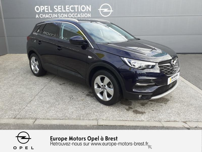 Opel Grandland X 1.6 D 120ch ECOTEC Innovation Bleu occasion à Brest - photo n°3