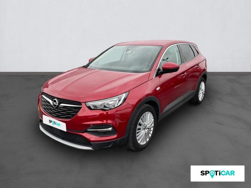 Opel Grandland X Grandland X 1.6 D 120 ch BVA6 Innovation Rouge occasion à VILLEFRANCHE DE ROUERGUE