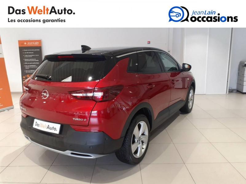 Opel Grandland X Grandland X 1.6 D 120 ch ECOTEC Innovation 5p Rouge occasion à Albertville - photo n°5