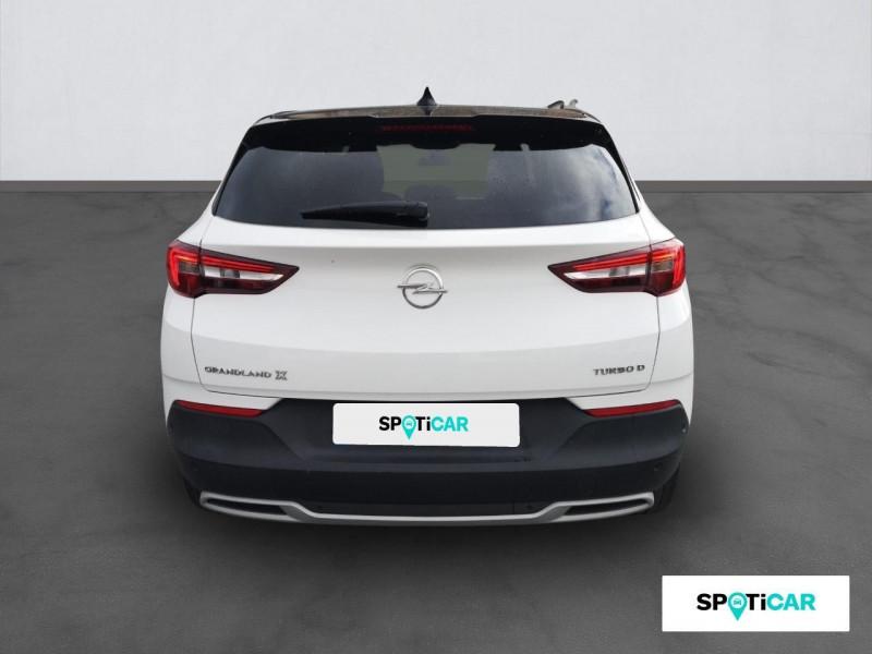 Opel Grandland X Grandland X 1.6 D 120 ch ECOTEC Innovation Blanc occasion à ONET LE CHATEAU - photo n°5