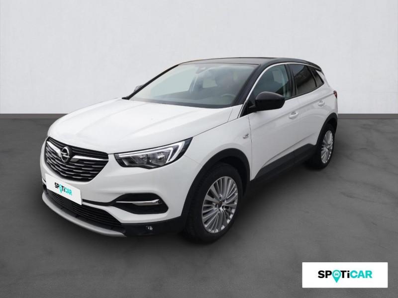 Opel Grandland X Grandland X 1.6 D 120 ch ECOTEC Innovation Blanc occasion à ONET LE CHATEAU