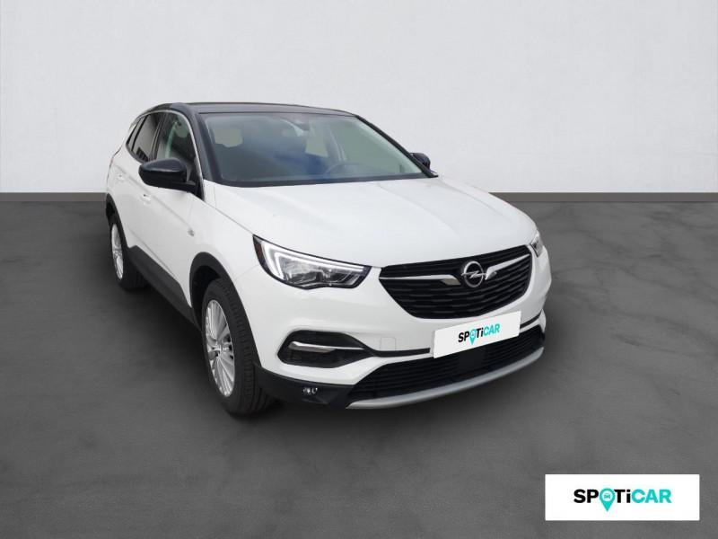 Opel Grandland X Grandland X 1.6 D 120 ch ECOTEC Innovation Blanc occasion à ONET LE CHATEAU - photo n°3