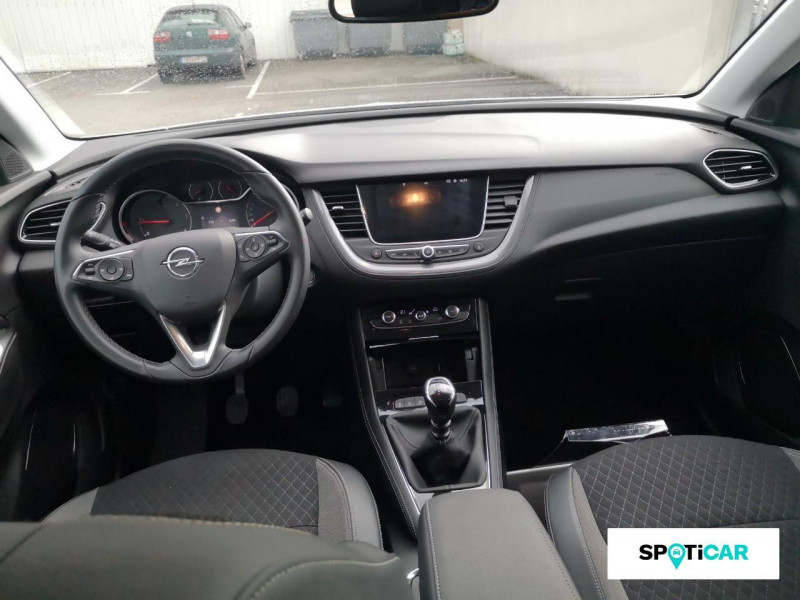 Opel Grandland X Grandland X 1.6 D 120 ch ECOTEC Innovation Blanc occasion à ONET LE CHATEAU - photo n°8