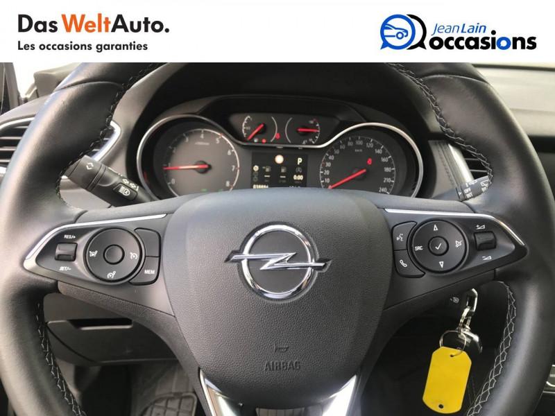 Opel Grandland X Grandland X 1.6 Turbo 180 ch BVA8 Elite 5p Noir occasion à Sallanches - photo n°12