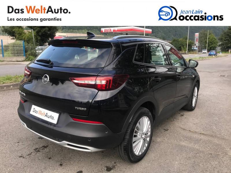Opel Grandland X Grandland X 1.6 Turbo 180 ch BVA8 Elite 5p Noir occasion à Sallanches - photo n°5