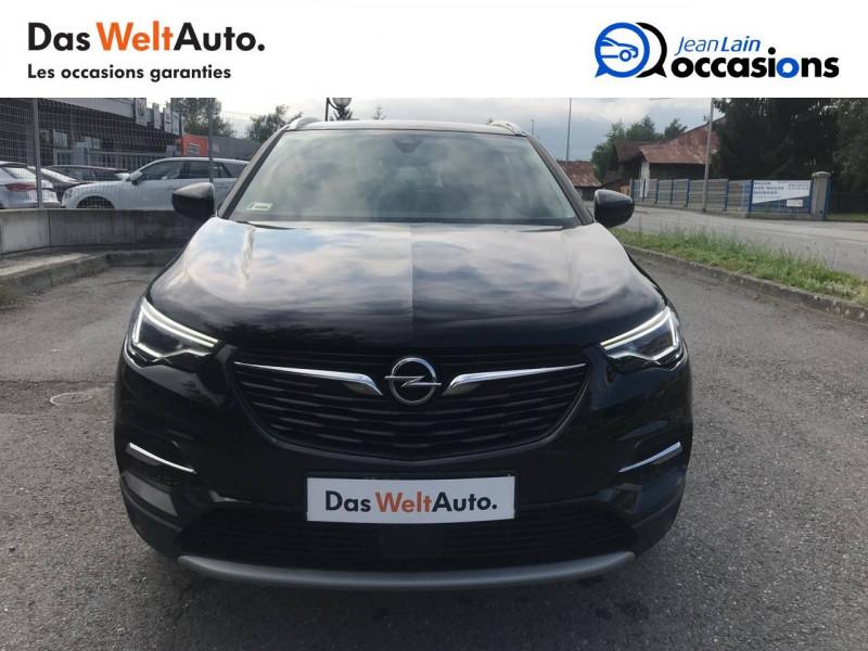 Opel Grandland X Grandland X 1.6 Turbo 180 ch BVA8 Elite 5p Noir occasion à Sallanches - photo n°2
