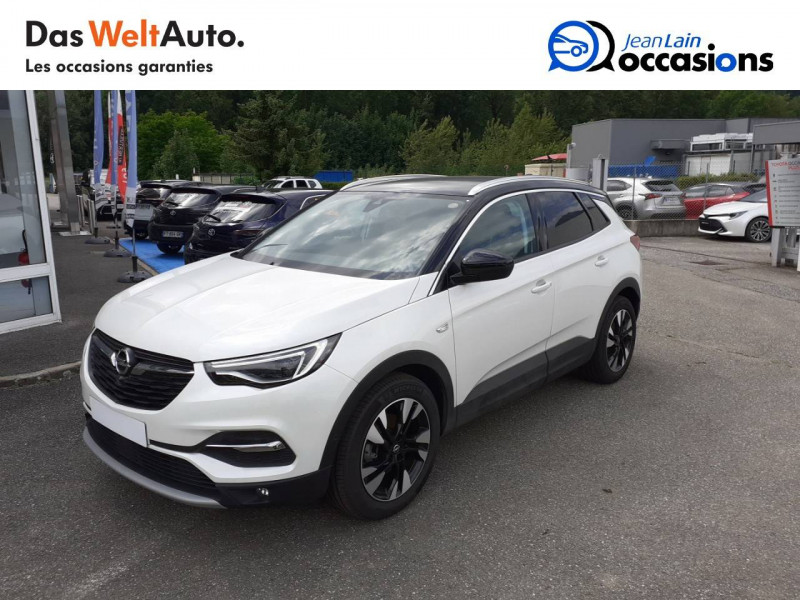 Opel Grandland X Grandland X 2.0 CDTI 177 ch BVA8 Ultimate 5p Blanc occasion à Tournon