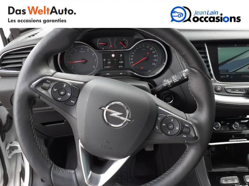 Opel Grandland X Grandland X 2.0 CDTI 177 ch BVA8 Ultimate 5p Blanc occasion à Tournon - photo n°12