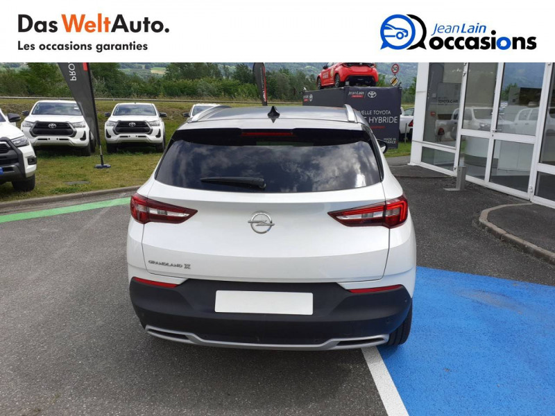 Opel Grandland X Grandland X 2.0 CDTI 177 ch BVA8 Ultimate 5p Blanc occasion à Tournon - photo n°6
