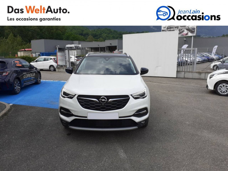 Opel Grandland X Grandland X 2.0 CDTI 177 ch BVA8 Ultimate 5p Blanc occasion à Tournon - photo n°2