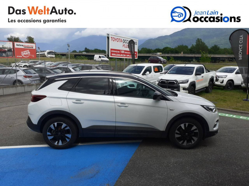Opel Grandland X Grandland X 2.0 CDTI 177 ch BVA8 Ultimate 5p Blanc occasion à Tournon - photo n°4